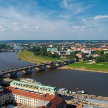 Dresden Blick von der Frauenkirche